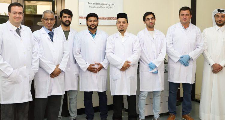 كلية الهندسة في جامعة قطر تطور أبحاثًا في المجالات الطبية الحيوية