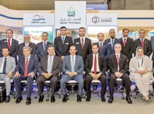 قطر غاز تستعرض قدرات صناعة الطاقة الوطنية