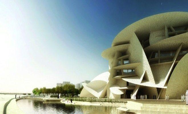 متحف قطر الوطني هندسة معمارية تستحضر تاريخ الدولة وتراثها