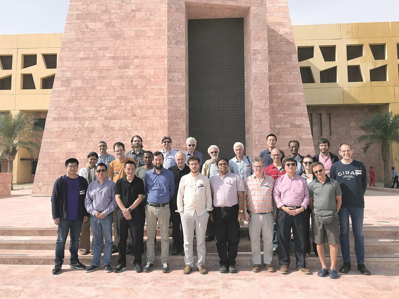 «تكساس» تستضيف ورشة عمل دولية حول «التحليل وعلم الهندسة»