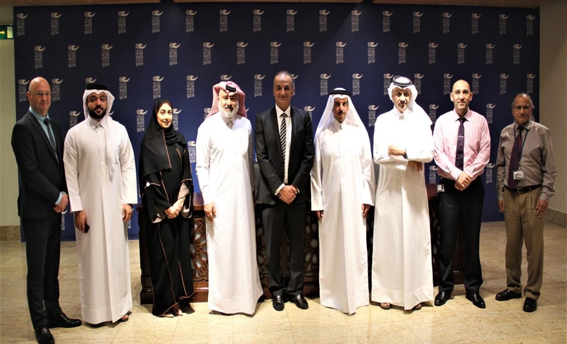 توقيع إتفاقية تعاون بين جمعية المهندسين القطرية وكلية الهندسة والمهن الصناعية بكلية شمال الأطلنطي في قطر .